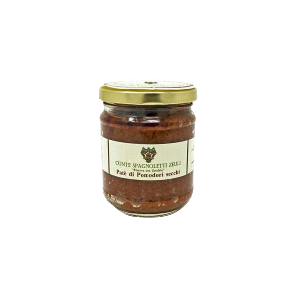 Peso netto: 200 gr. Ingredienti: Pomodori secchi Capperi, aglio Olio extravergine di oliva Origano Prezzemolo