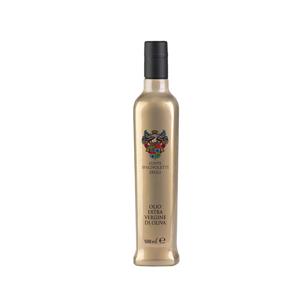 100% Italiano Estratto a freddo Coratina: 100 % Acidità: 0,15% (Lim 0,80%) Formato: 0,50 L